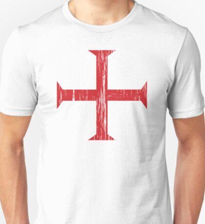 Knights Templar Crusader Cross T-Shirt