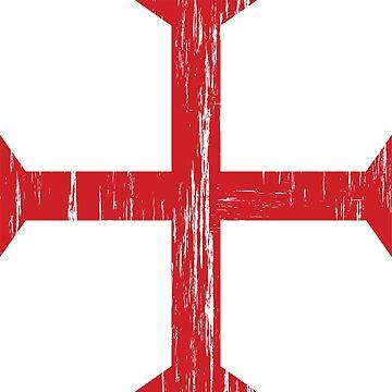 Knights Templar Crusader Cross by quark
