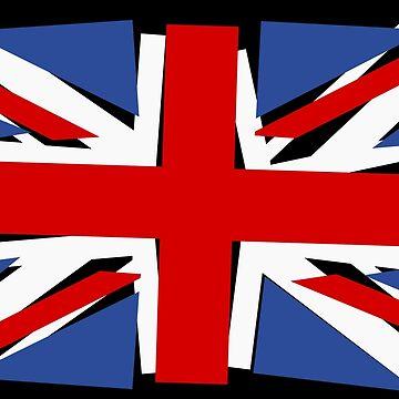 Crazy Union Jack by Kreativista