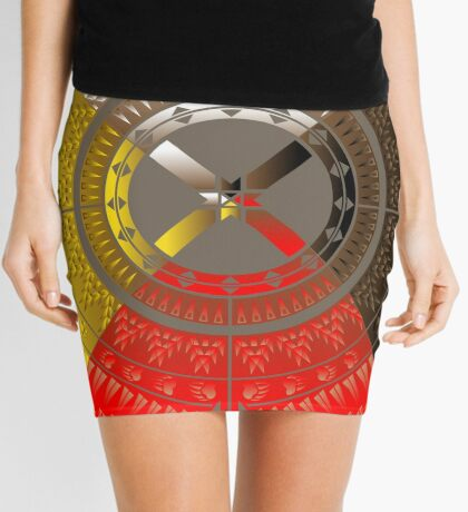 The Four Directions Mini Skirt