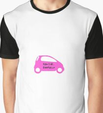 Smart Car ForTwo Pink Colour - From 0-60...Eventually Graphic T-Shirt
