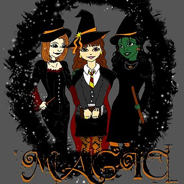The Witches Three by kayeskew