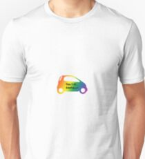 Smart Car ForTwo Rainbow Colour - From 0-60...Eventually T-Shirt