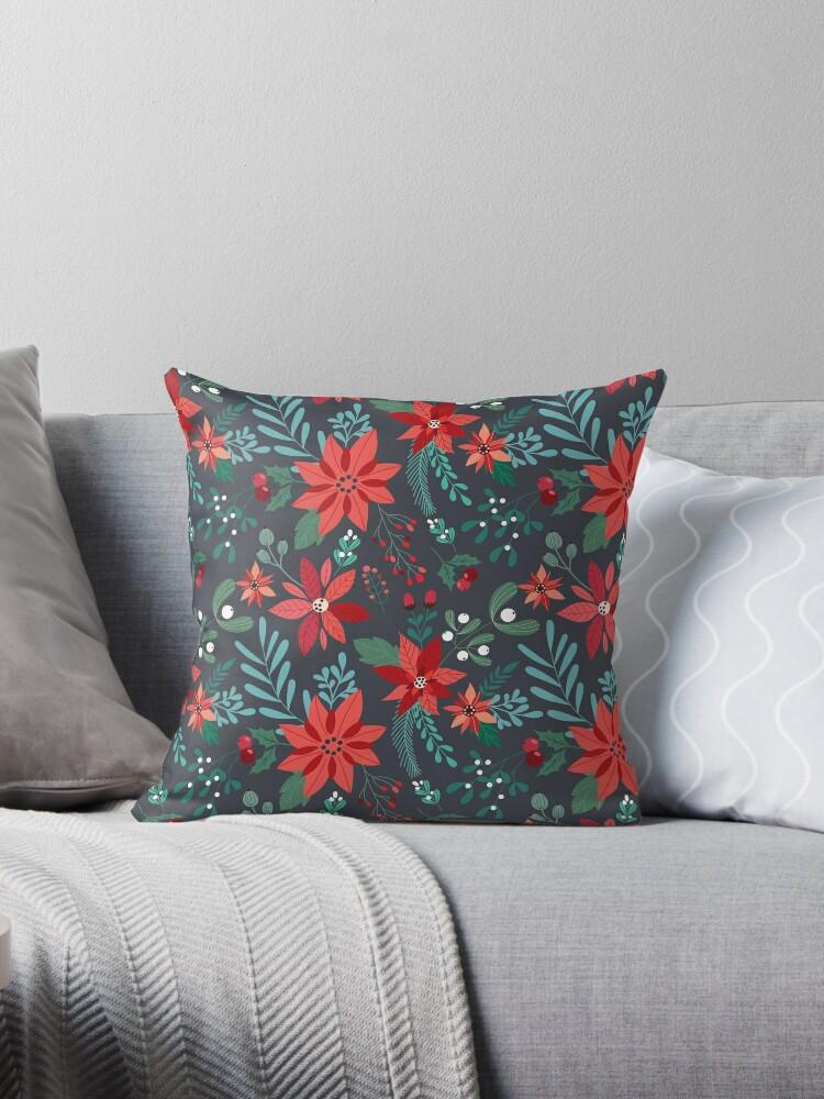 Poinsettia Pattern by meghanmarie