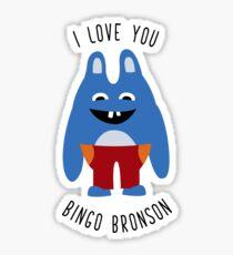 ily Bingo Bronson Sticker
