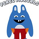 Peace Mortals by katietruppo