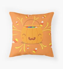 Jack-o-lantern Joy Floor Pillow