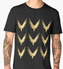 Gold Maverick Sticker Packs Men's Premium T-Shirt