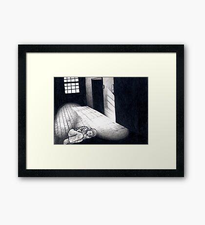 Cold, Dark Shadows Framed Print