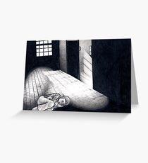 Cold, Dark Shadows Greeting Card