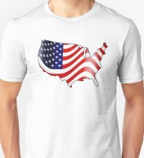 USA American Flag Unisex T-Shirt