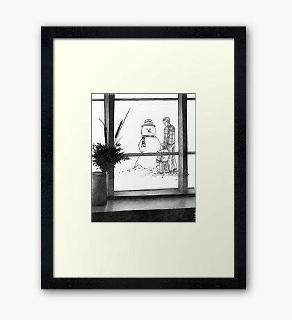 A New Friend Framed Print