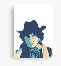 Fourth Doctor Canvas Print