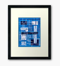 Living in levity Framed Print