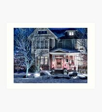 A Home For The Holidays Art Print