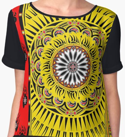 Sun Bear  Women's Chiffon Top
