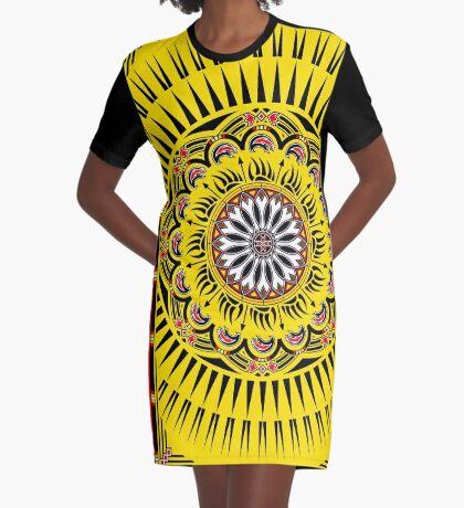 Sun Bear  Graphic T-Shirt Dress