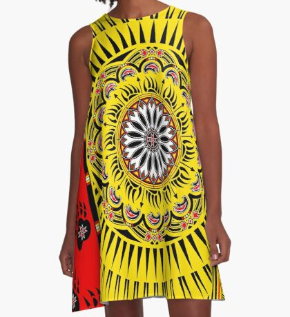 Sun Bear  A-Line Dress