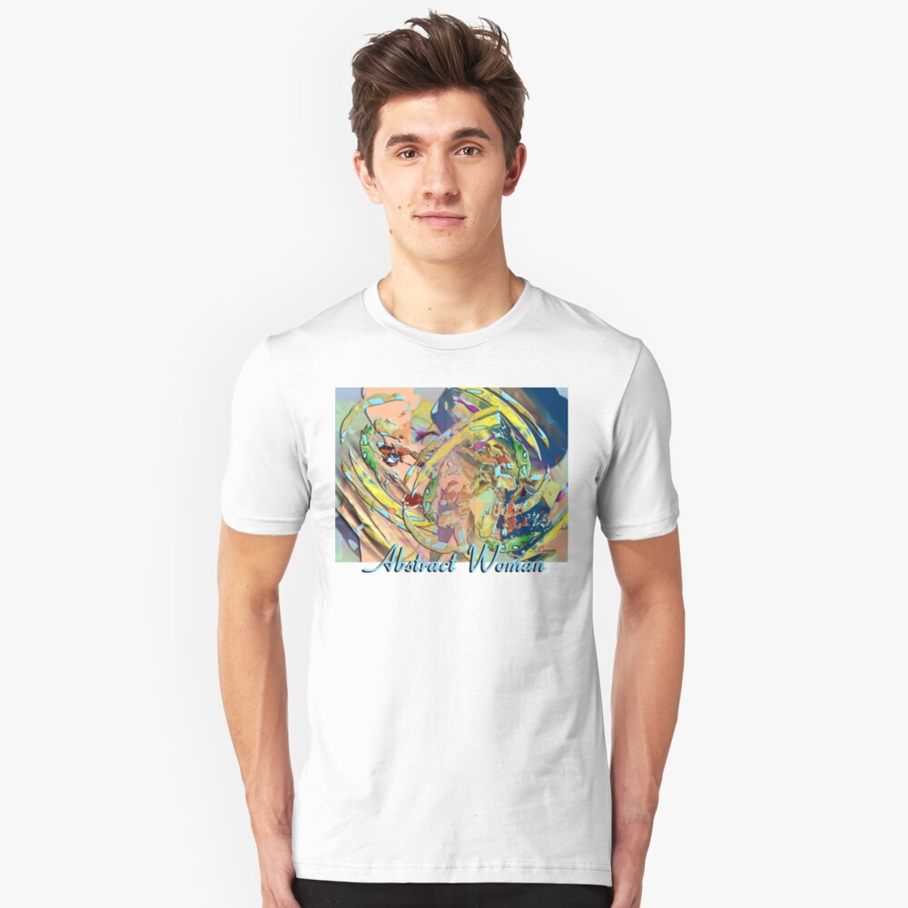 Abstract Woman Unisex T-Shirt Front