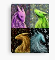 Four Seasons Dragons Canvas Print