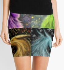 Four Seasons Dragons Mini Skirt