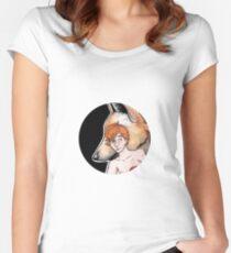 Remus Lupin, Werewolf Women's Fitted Scoop T-Shirt