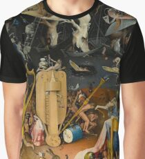 Hieronymus Bosch - The Garden of Earthly Delights Graphic T-Shirt