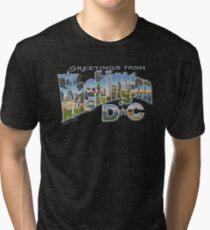 Greetings from Washington DC Tri-blend T-Shirt