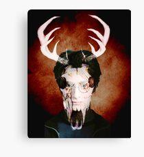 Deer Face Canvas Print