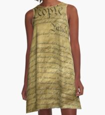 Divine Forefathers A-Line Dress