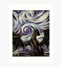 Dark Dragon Art Print