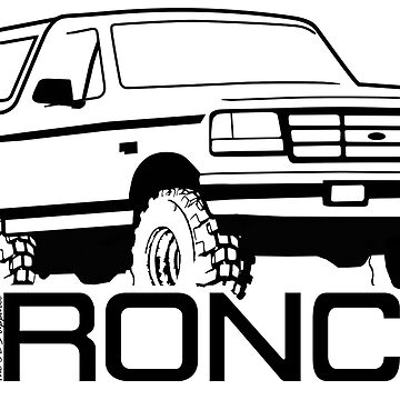 1992-1996 Ford Bronco by TheOBSApparel