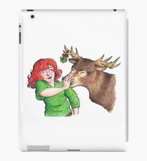 Christmas Fun with Lily and Prongs iPad Case/Skin