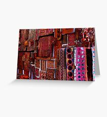 Colors of India Greeting Card