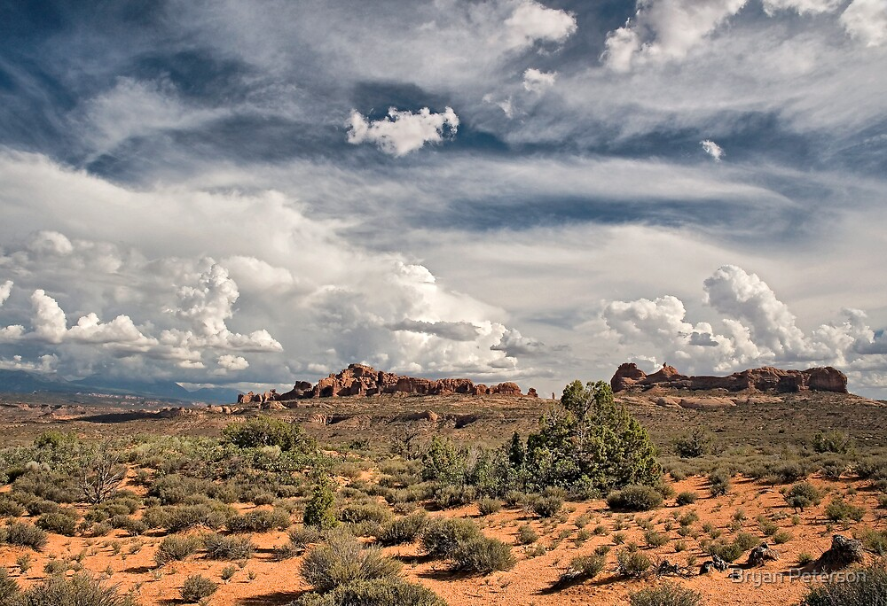 Storm Clouds by Bryan Peterson