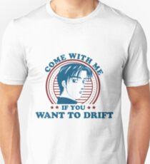 Takumi Challenge to Drift AE86 T-Shirt