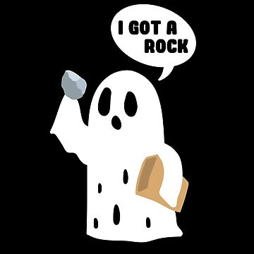 I Got a Rock Funny Halloween Artwork by CoolCatDesigns