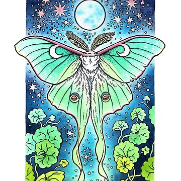 Moth of the Blue Moon by OMEGAFAUNA