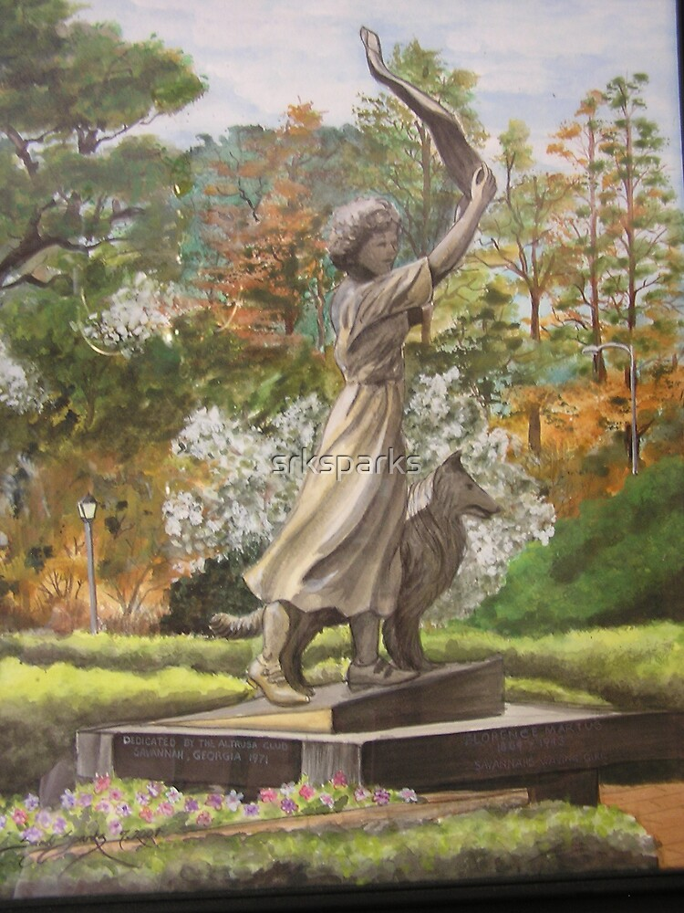 """""""The Waving Girl"""" by Sandy Sparks"""