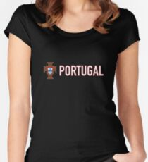 Portugal Women's Fitted Scoop T-Shirt
