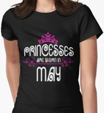 Princesses are born in May - Birthday Gift T-Shirt