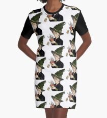 McGonagall's Birthday in Colour Graphic T-Shirt Dress