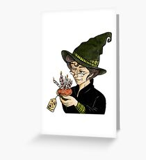 McGonagall's Birthday in Colour Greeting Card