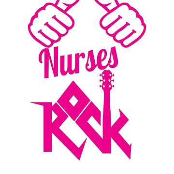 Nurses rock nursing t-shirt by mamatgaye