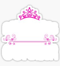 Princesses are born in October - Birthday Gift Sticker