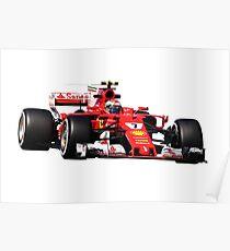 Póster Fórmula 1 Kimi Raikkonen