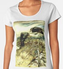 The Two Crows Women's Premium T-Shirt