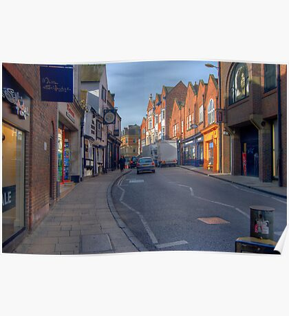 The Streets of York UK Poster