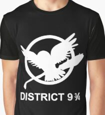 District 9 3/4 Graphic T-Shirt