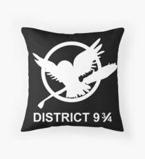 District 9 3/4 Throw Pillow
